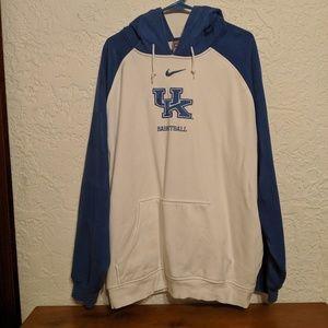 Kentucky Men's Nike Large Basketball Hoodie